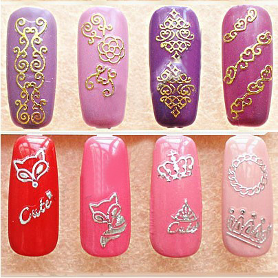 Nail art with stickers gallery nail art and nail design ideas nail art with stickers gallery nail art and nail design ideas nail art with stickers images prinsesfo Gallery